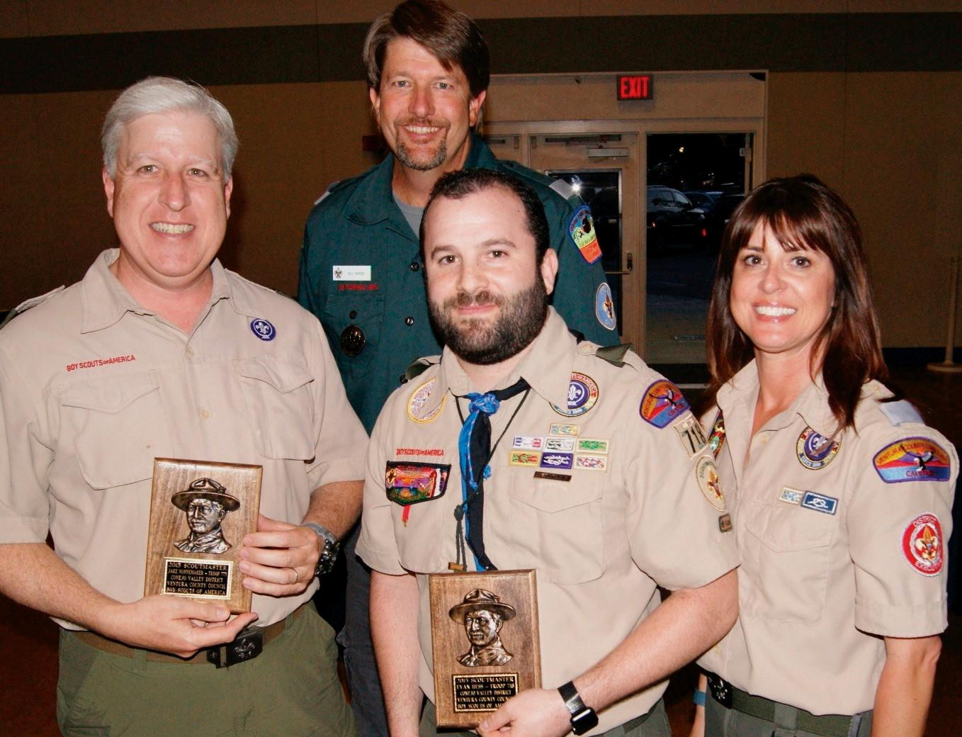 Boy scout adult awards — 15