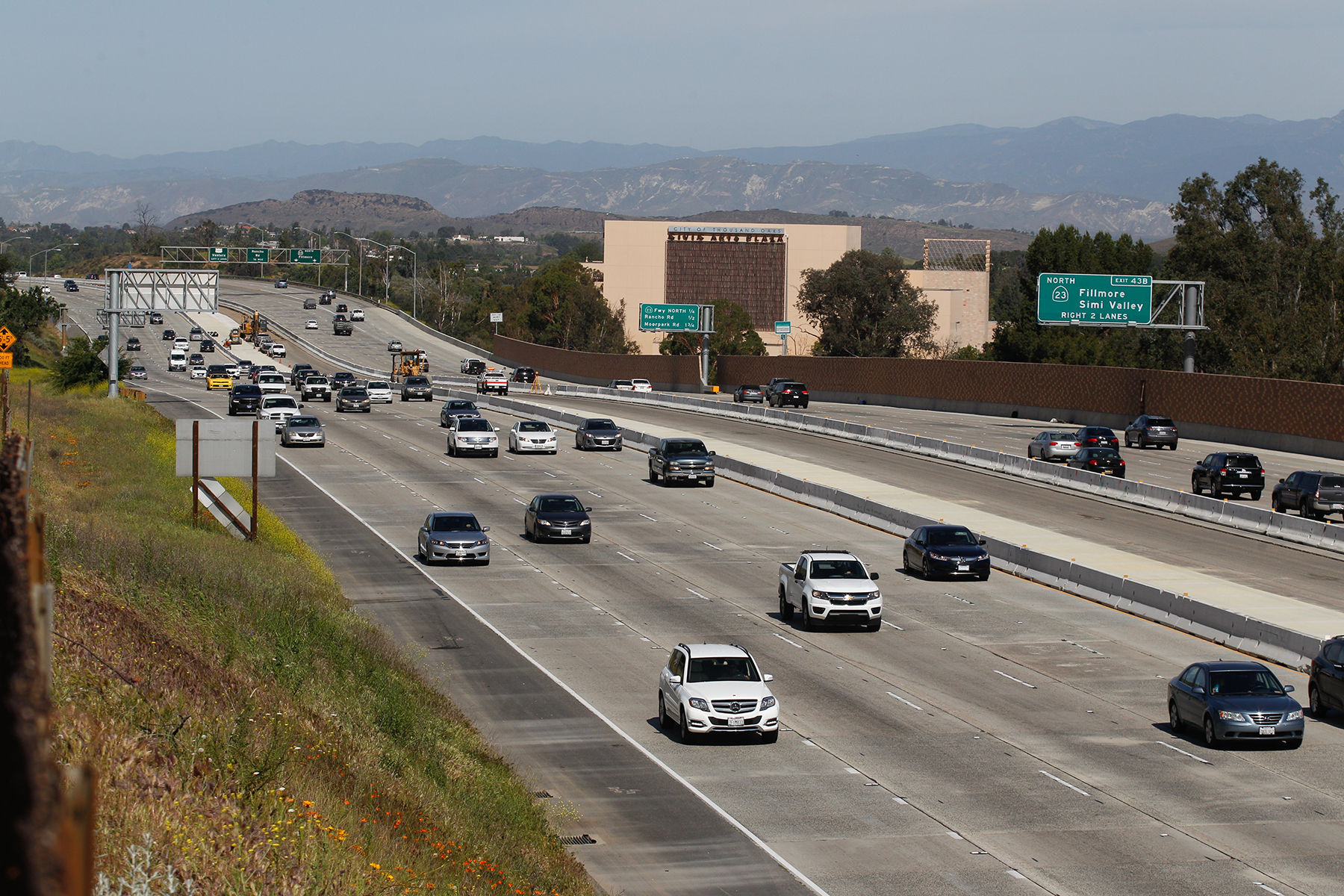 Two Men Were Arrested Monday Following An Alleged Road Rage Incident On The 101 Freeway In